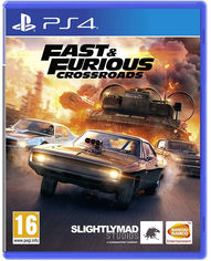 Акция на Игра Fast and Furious Crossroads для PS4 (Blu-ray диск, Russian subtitles) от Rozetka