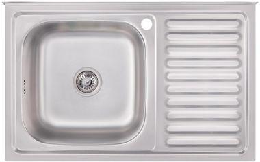 Кухонная мойка IMPERIAL 5080-L Satin IMP5080LSAT от Rozetka