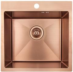 Кухонная мойка IMPERIAL D5050BR PVD Bronze Handmade 2.7/1.0 мм (IMPD5050BRPVDH12) от Rozetka
