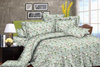 Двуспальное постельное белье Zastelli 2459-11 жатка (2500000972188) от Rozetka