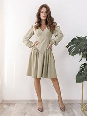 Платье ISSA PLUS SA-35 M Светло-зеленое (issa2000500579264) от Rozetka