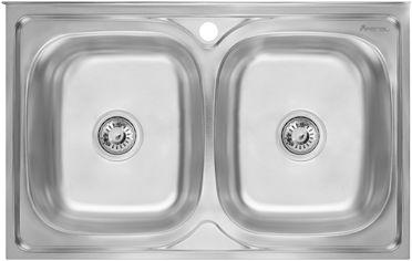 Кухонная мойка IMPERIAL 5080 Satin IMP5080SATD от Rozetka
