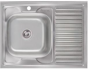 Кухонная мойка IMPERIAL 6080-L Satin IMP6080L06SAT от Rozetka
