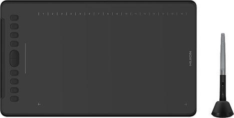 Акция на Графический планшет Huion New H1161 с перчаткой от Rozetka