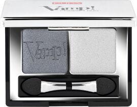 Акция на Тени для век Pupa Vamp! Compact Duo Eyeshadow №09 Silver Stone 2.2 г (8011607238033) от Rozetka