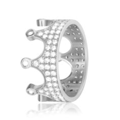 Акция на Серебряное кольцо с фианитом GS К2Ф/435 - 16,5 от Allo UA