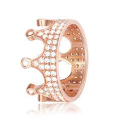 Акция на Серебряное кольцо позолоченное с фианитом К3Ф/435 - 18 от Allo UA