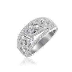 Акция на Серебрянное кольцо родированное - КК2Ф/240-17 от Allo UA