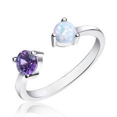 Акция на Серебрянное кольцо родированное - К2ОпБФА/1361-15 от Allo UA