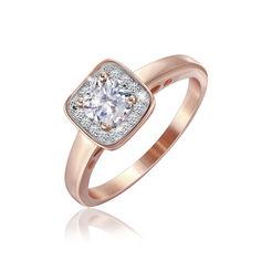Акция на Серебрянное кольцо в позолоте - К3Ф/237-18 от Allo UA