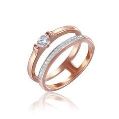 Акция на Серебрянное кольцо в позолоте - К3Ф/249-16 от Allo UA