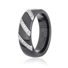 Акция на Серебряное кольцо керамическое GS КК2ФК/1008 - 19 от Allo UA