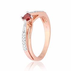Серебряное кольцо позолоченное с фианитом К3ФГ/306 - 16,5 от Allo UA