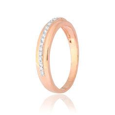Акция на Серебрянное кольцо в позолоте - КК3Ф/211-17,5 от Allo UA