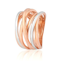 Акция на Серебрянное кольцо в позолоте - К32/443-17,5 от Allo UA
