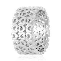 Акция на Серебрянное кольцо родированное - К2/485-17,5 от Allo UA