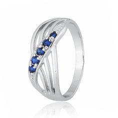 Серебряное кольцо с фианитом К2ФС/013 - 16 от Allo UA