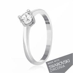 Акция на Серебрянное кольцо родированное - К2С/716-16,5 от Allo UA