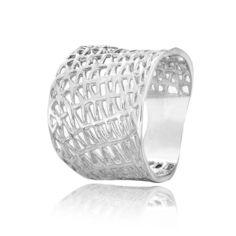 Акция на Серебряное кольцо родированое КК2/062 - 19,5 от Allo UA