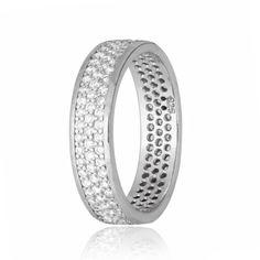 Акция на Серебрянное кольцо родированное - КК2Ф/374-18,5 от Allo UA