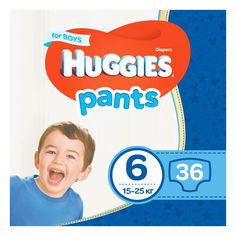 Акция на Подгузники-трусики Huggies Pant 6 (15-25 kg) Mega 36 Boy (5029053564067) от Allo UA