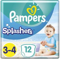 Акция на Подгузники-трусики для плавания Pampers Splashers размер 3 (6-11 кг), 12 шт (8001090698346) от Allo UA