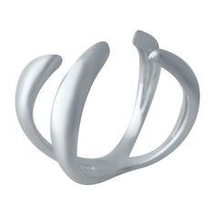 Акция на Серебряное кольцо GS без камней (2031383) 18 размер 4.45, 16.5 от Allo UA