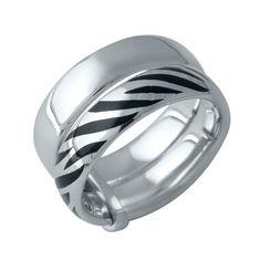 Акция на Серебряное кольцо GS без камней (1982457) 17 размер 8.94, 16 от Allo UA