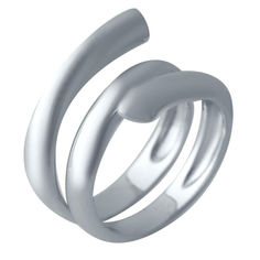 Акция на Серебряное кольцо GS без камней (2031604) 16.5 размер от Allo UA