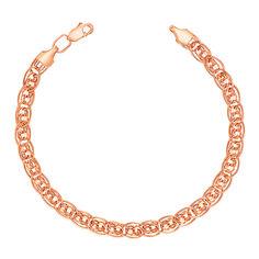 Золотой браслет Вернисаж в плетении Нонна Бисмарк 000113449 18 размера от Zlato