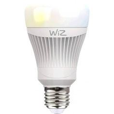 Акция на Лампа светодиодная WiZ Connected WiZ60 WiFi ССТ E27 11W 806lm 2700K-6500K (WZ0126071) от Allo UA