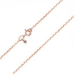 Цепочка из красного золота 000104294 45 размера от Zlato