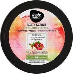 Акция на Скраб для тела Body Natur Body Scrub Red fruits Pomegranate and Dragon fruit 200 мл (8414719408095) от Rozetka