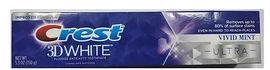 Акция на Зубная паста Crest 3D White Ultra Vivid Mint 150 г (037000598541) от Rozetka