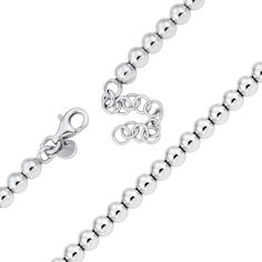 Серебряный браслет 000124511 17 размера от Zlato