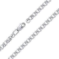 Серебряный браслет, 2,5мм 000118124 от Zlato
