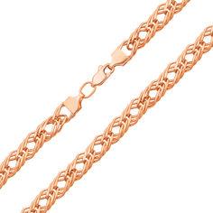 Браслет из красного золота 000113513 17 размера от Zlato