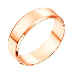 Обручальное кольцо из красного золота 5 мм 000138817 от Zlato