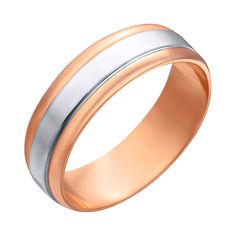 Обручальное кольцо в комбинированном цвете 000122568 от Zlato