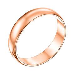 Обручальное кольцо из красного золота 000007373 21.5 размера от Zlato