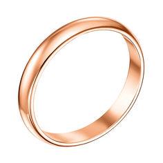 Обручальное кольцо из красного золота 000008406, 2.5мм 000008406 22 размера от Zlato