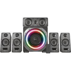 Акция на Trust GXT 698 Torro RGB-Illuminated 5.1 Speaker Set Black (23059) от Allo UA