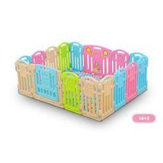 Акция на Детский манеж - заграждение XOKO Play Pen Bear Series D14 165 * 132cm (D14) от Allo UA