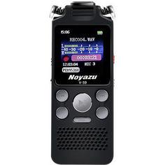 Акция на Цифровой диктофон с таймером для записи голоса Noyazu voice recorder V59, стерео, 8 Гб, черный от Allo UA