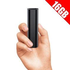 Акция на Цифровой диктофон с большим временем работы Hyundai K705, 300 часов VOX 16 Гб от Allo UA