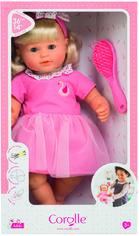 Акция на Кукла Corolle Адель с ароматом ванили со щеткой для волос 36 см (9000130210) от Rozetka