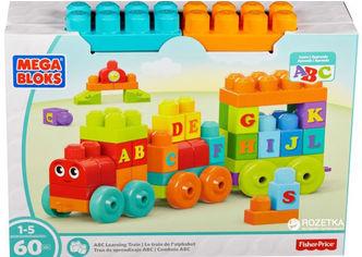 Акция на Конструктор Mega Bloks Fisher-Price Поезд с буквами (DXH35) от Rozetka