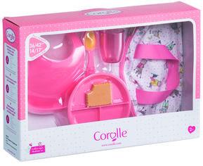 Акция на Игровой набор Corolle Детский Завтрак в сумке 6 аксессуаров для кукол 36-42 см (9000140320) от Rozetka
