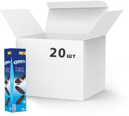 Упаковка печенья Oreo тонкого с какао и кремовой начинкой ванильного вкуса 96 г х 20 шт (7622210606396) от Rozetka
