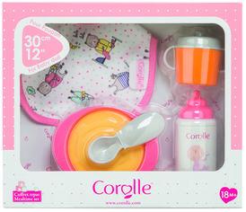 Акция на Игровой набор Corolle Детский Завтрак 5 аксессуаров для кукол 30 см (9000110220) от Rozetka